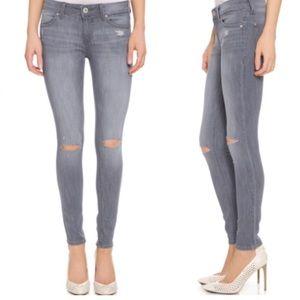DL1961 | Emma Grey Denim Jeans Leggings Size 24